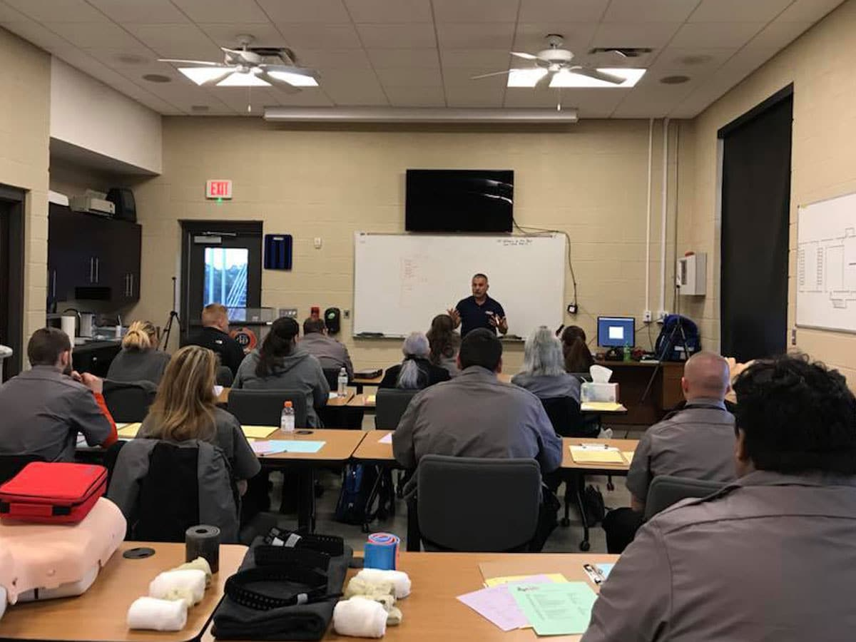 ems training in session
